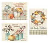Thanksgiving Blessings, Box of 12 Cards