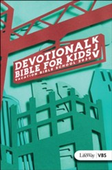 Concrete & Cranes: KJV Devotional  Bible for Kids