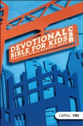 Concrete & Cranes: CSB Devotional  Bible for Kids