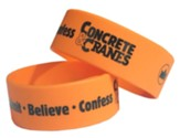 Concrete & Cranes: Gospel Wristband (pkg. of 10)