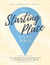 NIV, Starting Place Study Bible, eBook: An Introductory Exploration of Studying God's Word - eBook