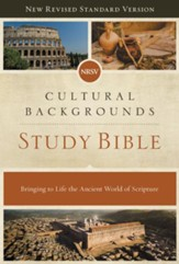 NRSV, Cultural Backgrounds Study Bible, eBook: Bringing to Life the Ancient World of Scripture - eBook