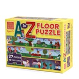 Little Words Matter A to Z Floor Puzzle, 27 Pieces