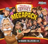 Adventures in Odyssey Megapack CD Library-75 Episodes on 25 CDs!