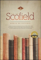 Biblia de Estudio Scofield RVR 1960, Piel Fab. Negro Ind.  (RVR 1960 Scofield Study Bible, Bonded Leather Black Ind.) - Imperfectly Imprinted Bibles