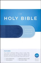 MEV (Modern English Version) Thinline Reference Bible (MEV), Leather, imitation