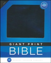 MEV (Modern English Version) Bible Giant-Print, Imitation  Leather, Black
