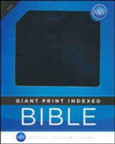 MEV (Modern English Version) Bible Giant-Print, Thumb-Indexed,  Imitation Leather, Black - Slightly Imperfect