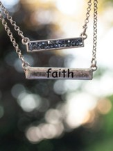 Faith Necklace and Earring Set