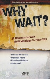 Why Wait? 24 Reasons for Abstinence, Pamphlet - 5 Pack
