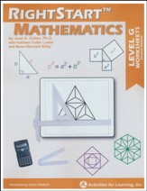 RightStart Mathematics Level G  Worksheets, Second Edition