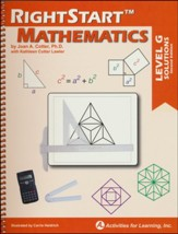 RightStart Mathematics Level G Solutions, Second Edition