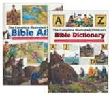 Complete Illustrated Children's Bible Dictionary/Atlas Set
