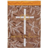 United in Love Cana Cross Flag, Small