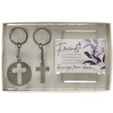 Friends Are a Perfect Reflection of God's Unfailing Love Key ring and Card