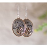 Faith Hope Love Earrings