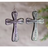Large Cross Earrings