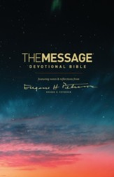 The Message Devotional Bible: featuring notes & reflections from Eugene H. Peterson - eBook