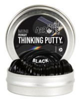 Mini Thinking Putty, Black