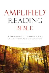 Amplified Reading Bible, eBook: A Paragraph-Style Amplified Bible for a Smoother Reading Experience - eBook