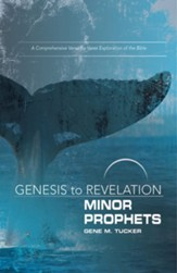 Genesis to Revelation: Minor Prophets Participant Book Large Print: A Comprehensive Verse-by-Verse Exploration of the Bible - eBook