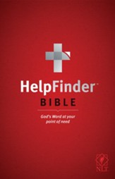HelpFinder Bible NLT: God's Word at Your Point of Need - eBook