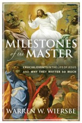 Milestones of the Master: Crucial Events in the Life of Jesus and Why They Matter So Much - eBook