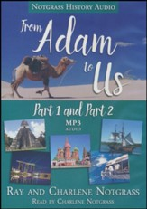 From Adam to Us Audio Supplement MP3 CDs (Parts 1 & 2)