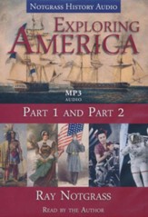 Exploring America Audio Supplement MP3 CDs (Parts 1 & 2)