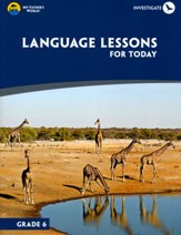 Language Lessons for Today, Grade 6