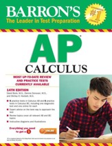 Barron's AP Calculus, 14th edition -  eBook