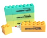 Concrete & Cranes: Building Block Highlighters (pkg. of 4)