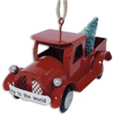 Joy To The World Truck Ornament