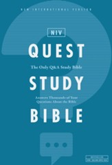 NIV, Quest Study Bible, eBook: The  Only Q and A Study Bible - eBook
