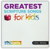 Greatest Scripture Songs for Kids CD