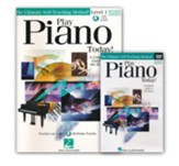Play Piano Today! Beginner's Pack- Book/DVD
