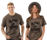 No Victory Without Sacrifice Shirt, Brown, XX-Large , Unisex