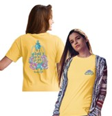 Be A Light For All To See Shirt, Yellow, XXX-Large
