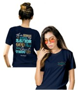 Then Sings My Soul Shirt, Navy Blue, Small