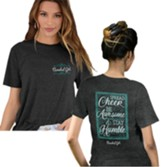 Spread Cheer Shirt, Grey, XX-Large