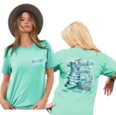 Trust In the Lord and He Will Direct Your Paths Shirt, Teal, Medium