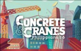 Concrete & Cranes: Postcards (pkg. of 50)