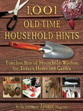 1,001 Old-Time Household Hints: Timeless Bits of Household Wisdom for Today's Home and Garden - eBook