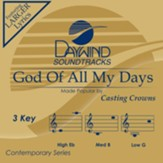 God of All My Days, Accompaniment Track