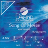 Songs of Moses, Accompaniment Track