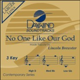 No One Like Our God, Accompaniment Track