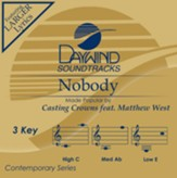 Nobody (ft. Matthew West), Accompaniment CD