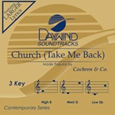 Church (Take Me Back), Accompaniment CD