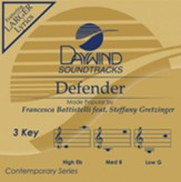 Defender (ft. Steffany Gretzinger), Accompaniment CD