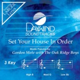 Set Your House In Order, Accompaniment CD